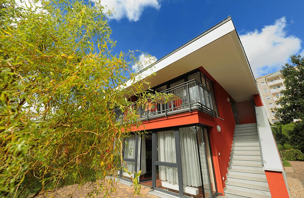 Wohnansicht Haus Sonnenleithe in Schwarzenberg
