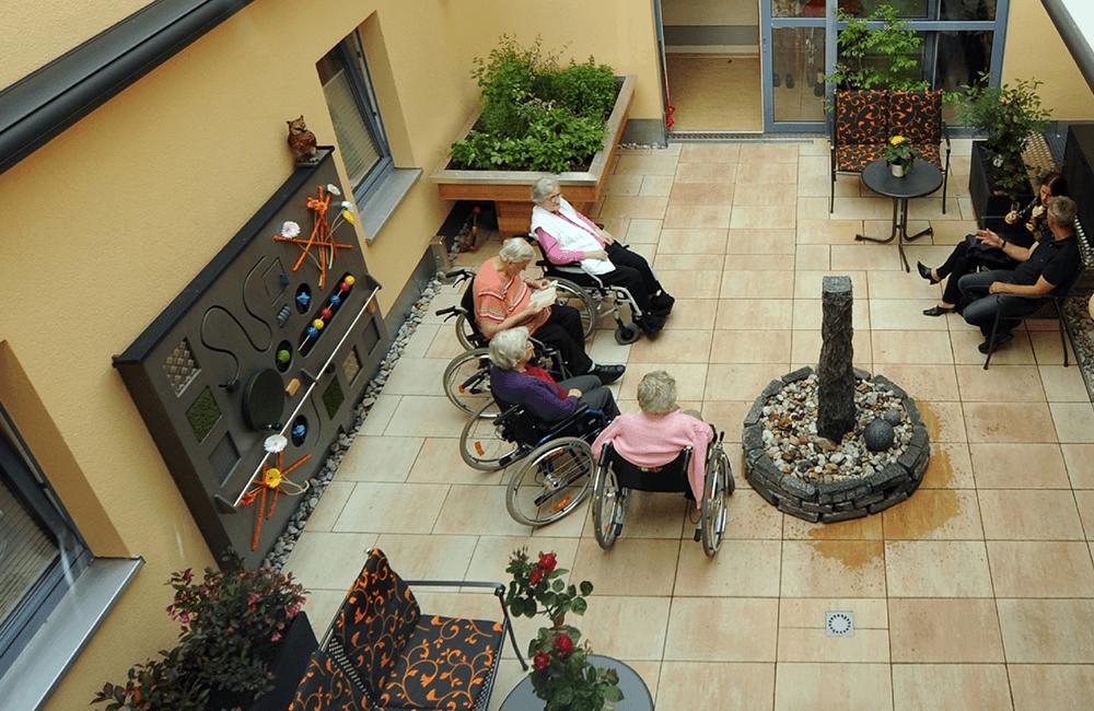 Sinnesgarten AWO Seniorenzentrum Burkhardtsdorf